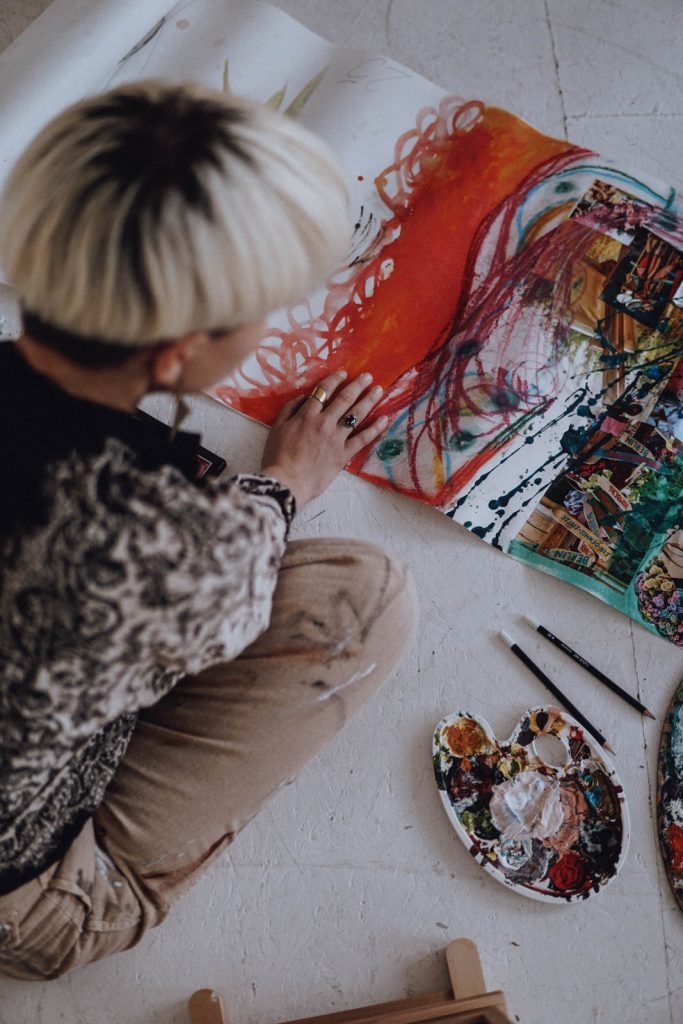 Pinsel & Farbe Julia Plumenbaum Kunsttherapie Kunstpädagogik