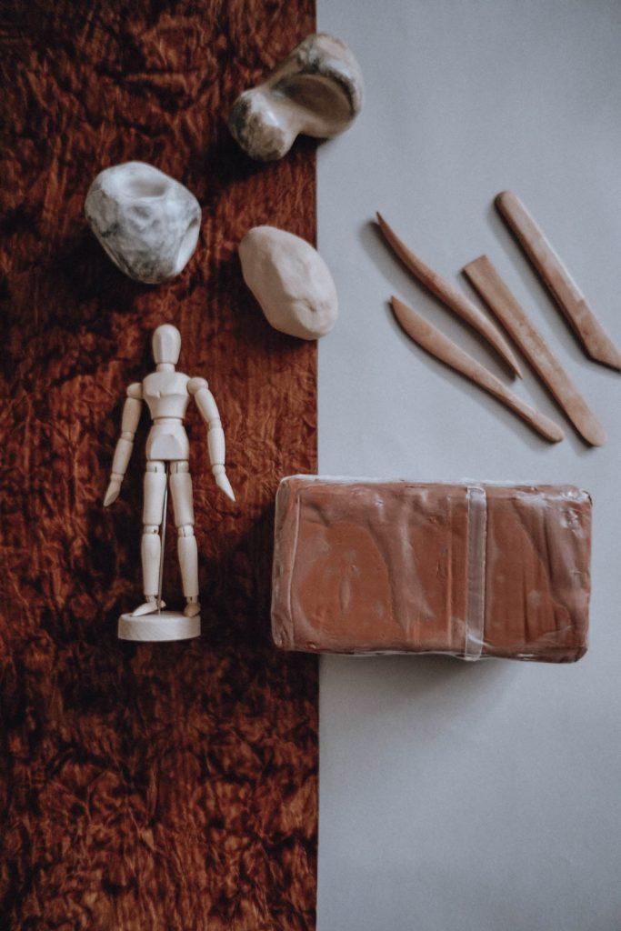 Material Julia Plumenbaum Kunsttherapie Kunstpädagogik